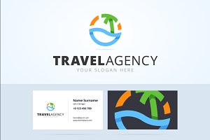 Travel logo and business card