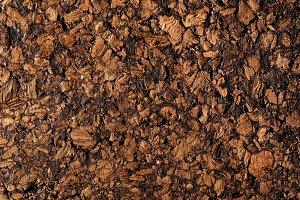 Natural cork texture