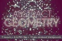 Abstract Geometry Triangular Network