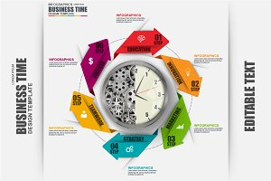 Business Time Infographics