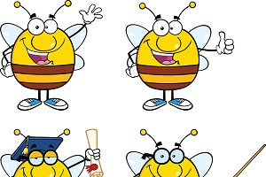 Bee Characters Collection - 1