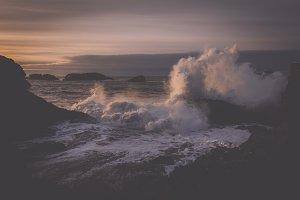 Beautiful Coastline of Iceland