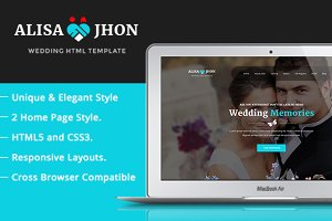 Wedding- Responsive Theme