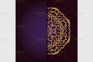 Abstract circle ornament