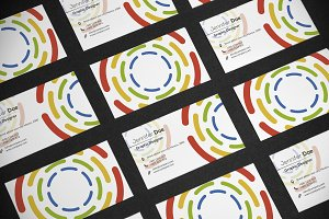 Business Card Circle