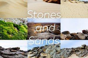 Stones and Sands Bundle - 9 photos