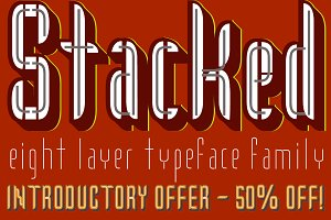 Stacked™ Eight Layer Stacking Type