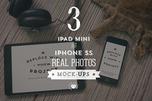3 Hip iPad & iPhone mock-ups