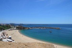 Beach in Sines..