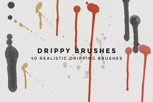 Drippy Brushes - 40 Dripping Brushes