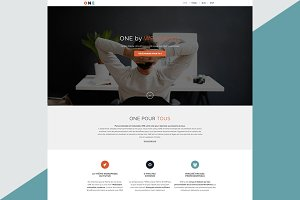 ONE, responsive WordPress theme