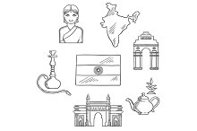 India culture and travel concept