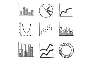 Business and financial charts