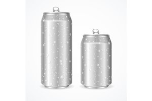 Wet Can. Vector