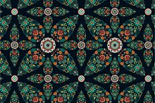 5 Indonesian Floral Patterns