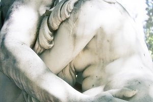 Lover's Embrace in Stone (Photo)