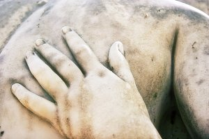Lover's Caress in Stone (Photo)