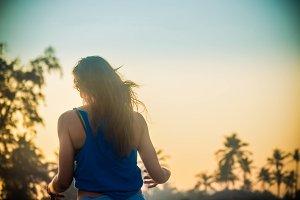 Girl on Beach #2
