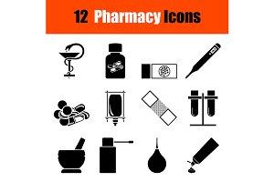Set of Pharmacy icons