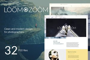 LoomZoom – 32Photography Template
