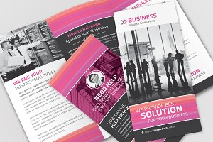 Business Tri-Fold Brochure 01
