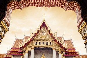 thai marble temple