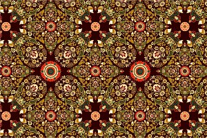 3 Indonesian Floral Patterns