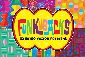 Funkybacks: 50 Retro Vector Patterns