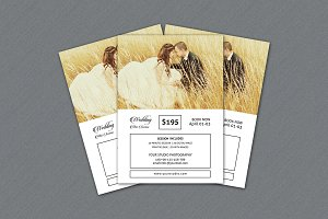 Wedding Mini Session Template-V237