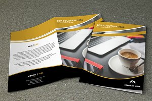 Corporate Brochure Template -V444
