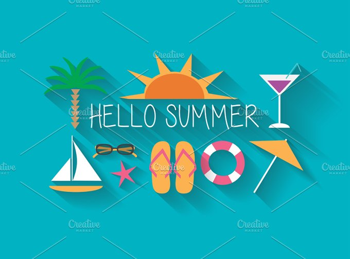 Hello Summer Picture ~ Inspiring Quotes and words In Life