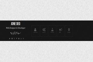 Mycard - Responsive HTML5 Vcard