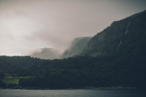 Mountains, Ocean and Forest, Vintage
