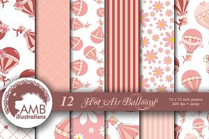 Hot Air Balloon Papers AMB-1232
