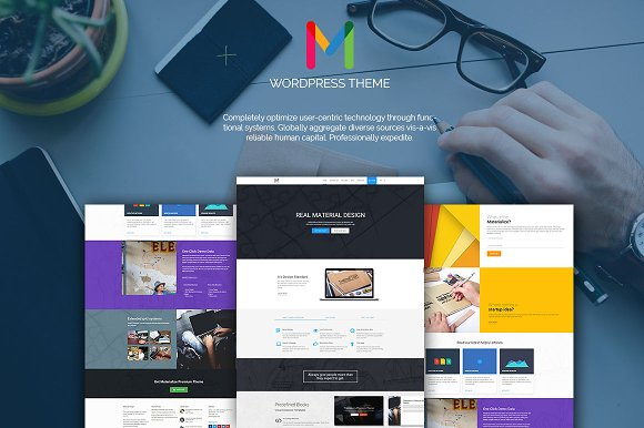 Materialize: MultiPurpose Business Theme