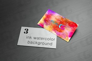 ink watercolor background