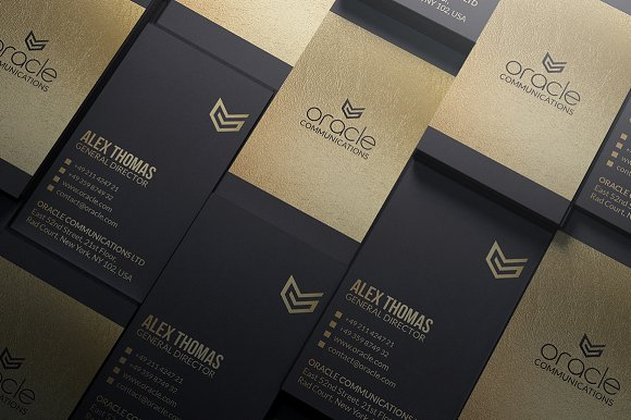 Premium gold and black business card business card templates premium gold and black business card business card templates creative market colourmoves