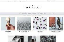 LORELEI - Nordic Blog & Shop Theme