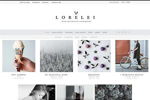 LORELEI - Nordic Blog & Shop Theme