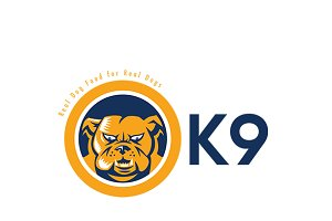 K9 Real Dog Food Logo