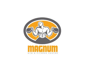 Magnum Gym and Fitness Center Logo
