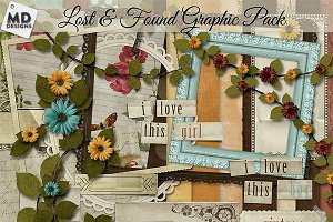 Lost & Found Digital Scrapbooking