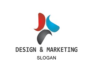 Design & Marketing Logo Template