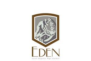 Eden Local Organic Vege Garden Logo