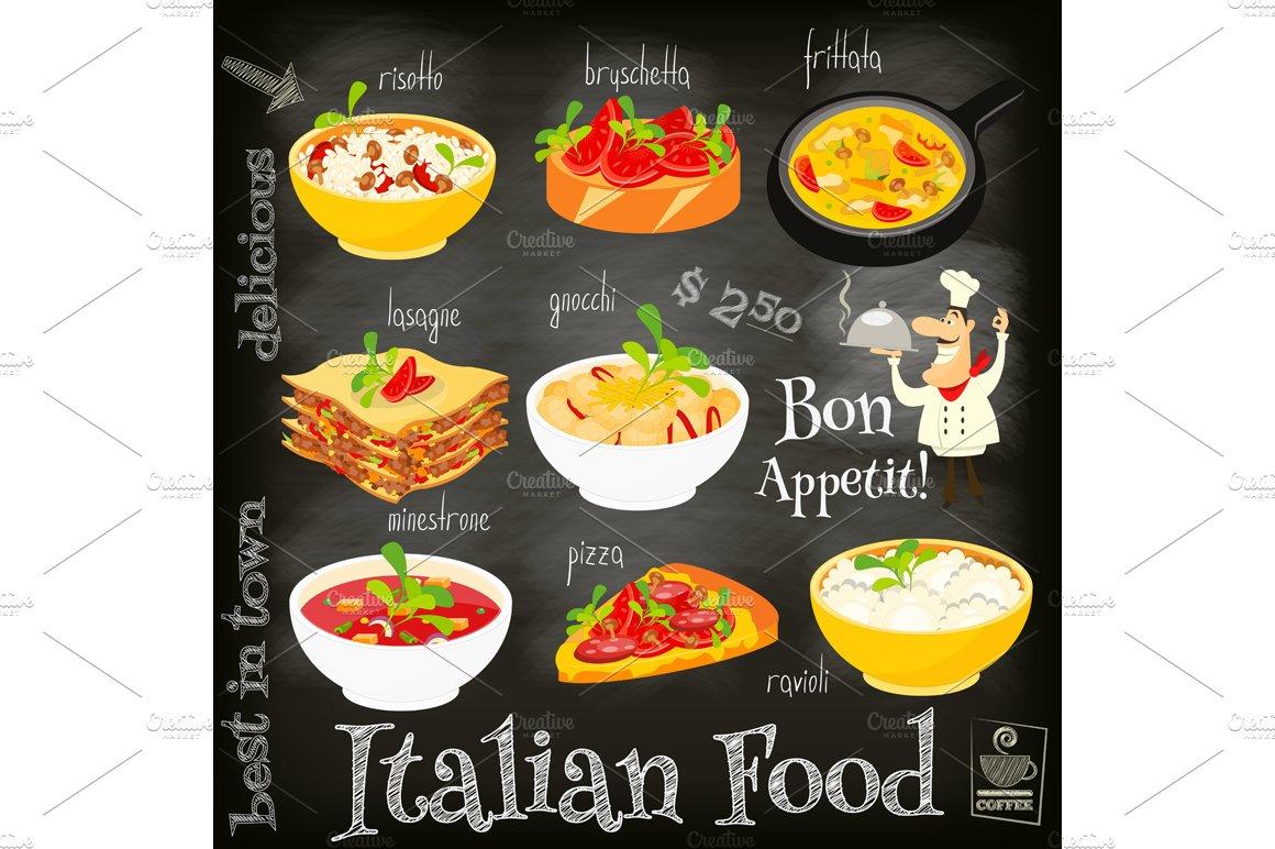 Italien Food Product
