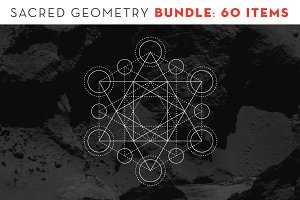 Sacred Geometry BUNDLE: 60 Items
