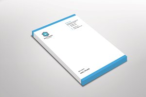 Bloga Letterhead Template
