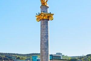 Freedom Monument.Tbilisi,Georgia