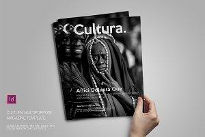 Cultura Magazine Template