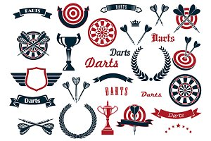 Darts sport game design elements